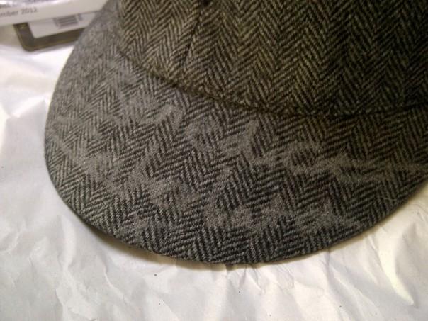 カンバーバッチのサイン入り帽子